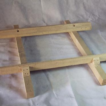 徐州厂家定制 木器制品系列铝厂专用 木托盘井字架 木架