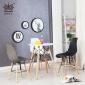 伊姆斯新款洽谈椅子时尚简约塑料椅餐椅简约创意个性餐桌椅咖啡椅