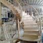 定制实木楼梯复式楼梯立柱厂家直销实木楼梯扶手阳台飘窗围栏