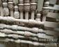 雕花实木楼梯立柱 八角形楼梯护栏装饰柱子支持定做